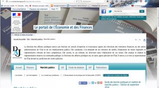 Portail ministère économie et finances