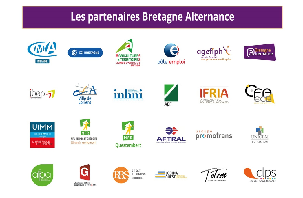 Partenaires Bretagne Alternance