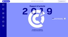 Couv rapport d'activité CCI Bretagne 2019